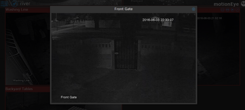Notes on getting Motion + MotionEye working with the Aprica CCTV DVR